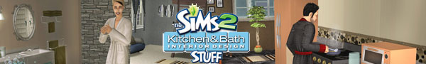 The Sims 2 Kitchen & Bath Stuff